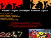 """Galasso-Gorgone Quartet feat. Alessandra Sulpasso concerto """"Bar dell'Angolo"""""""