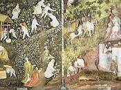 Calendari dipinti muri: buon anno arte Cicli Mesi