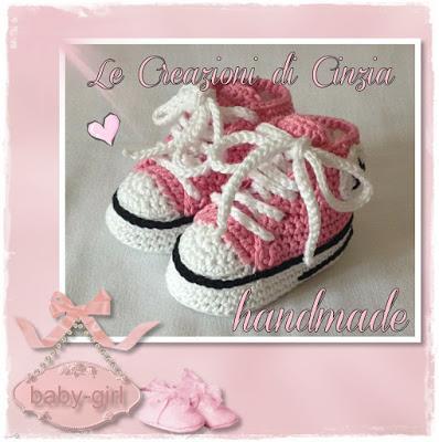 Converse E Adidas Scarpine Baby Ad Uncinetto Paperblog