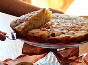 Torta panettone,mele mandorle cotta fornetto estense