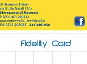Spaccio Pannolini Sforzacosta (Mc) lancia fidelity card: regali vantaggi immediati