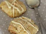 Cookies arancia mandorle cioccolato bianco
