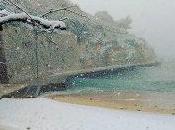 Dolcemente informati: Notte tregenda Salento- bufere neve Lecce Provincia -3°C riva mare