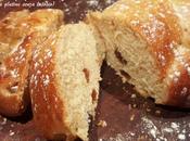 Treccia Brioches uvetta mandorle profumo vaniglia senza glutine lattosio