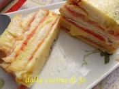 Cake salato pane avanzato