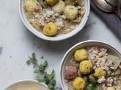 Zuppa cardi patate, orzo polpettine pollo Taste&More Magazine