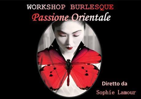 Geisha Workshop burlesque con Sophie Lamour