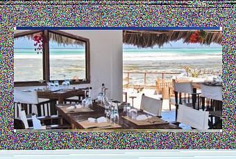 C Un Ristorante In Mezzo Al Mare In Zanzibar Paperblog