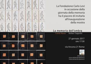 La memoria dell'ombra – Carola Masini e Stefano Trappolini