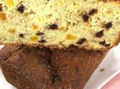 Plum Cake gocce cioccolato, banane albicocche.