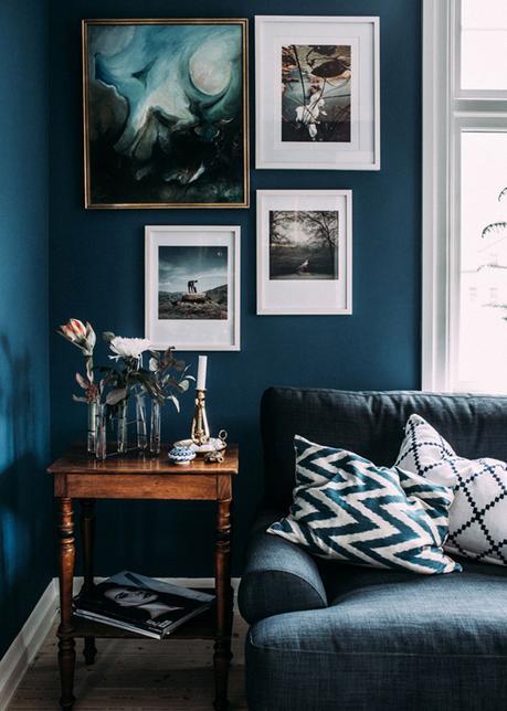 Tendenze Casa: le pareti scure - Paperblog