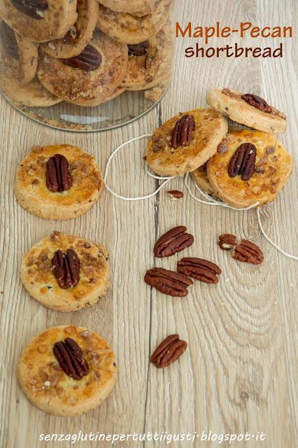 Maple-pecan shortbread di Martha Stewart senza glutine - Paperblog