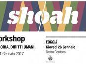 """Foggia. """"Giornata della Memoria 2017"""": Comune ospita """"Giordano"""" workshop itinerante promosso dalla Teca Mediterraneo"""