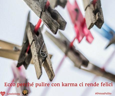 Sponsored Post | Perché pulire con karma ci rende felici