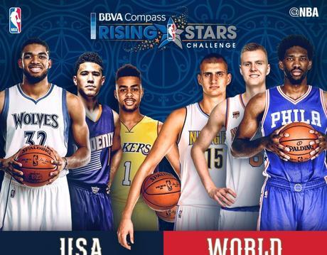 BBVA Rising Stars Challenge - © 2017 twitter.com/NBA