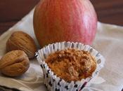 Muffin alle mele senza uova burro