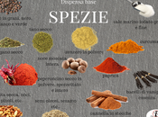 Scheda dispensa base dellle spezie