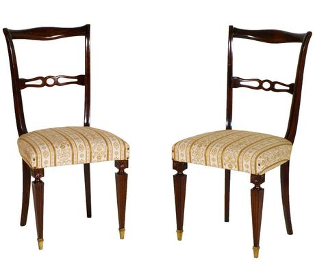 Arredamento antico moderno soggiorno tavolo tornito sedie - Tavolo antico sedie moderne ...