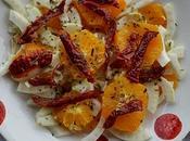 Insalata Invernale Arancio Finocchio Pomodorini Secchi