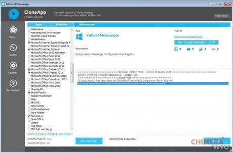 Copiare programmi e configurazioni Windows