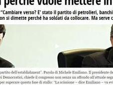 """venga Michele Emiliano quale Segretario problema dirigenziale sarà risolto! """"delfini"""" italiani fatti fuori nascere."""