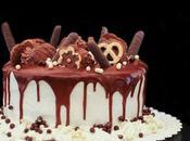 Drip cake torta glassa colante