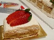 Mattonella cheesecake Buondolce alle fragole