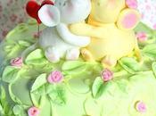 Torta valentino topini innamorati