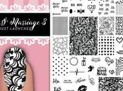 UberChic Beauty Love Marriage-03 Nail Stamping Plate Swatches Review
