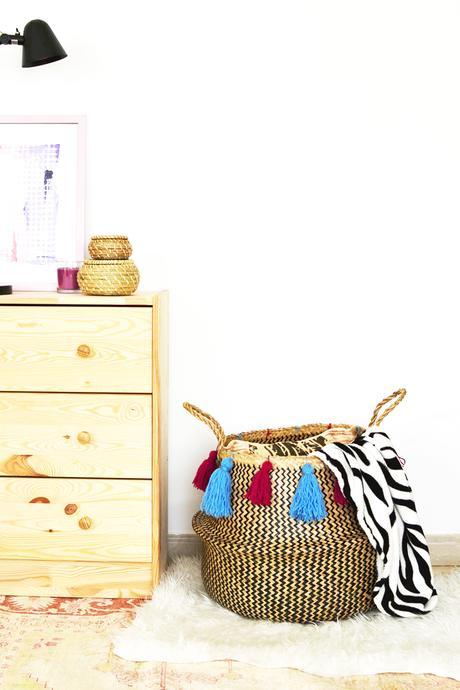 home decor low cost il cesto fladis di ikea paperblog