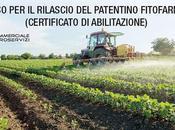 Corso rilascio/rinnovo patentino fitofarmaci