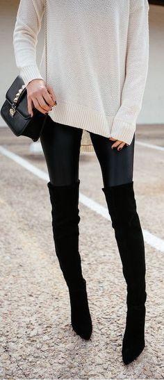 come indossare gli stivali alti