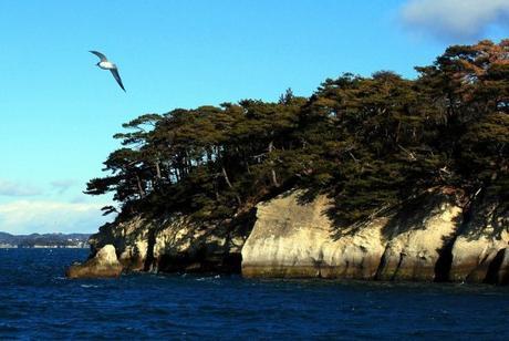 Quando andare in Giappone? Cieli azzurri sulla baia di Matsushima