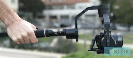 Recensione Zhiyun Crane, stabilizzatore elettronico per reflex e mirrorless