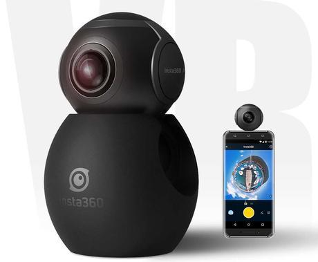 Insta360, camera compatta Android per riprese a 360 gradi