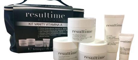 Kit Vanity Vitamina A di RESULTIME … per avere prodotti beauty di qualità sempre a portata di mano