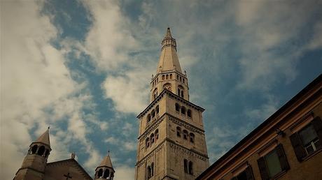 Modena dall'alto della Ghirlandina