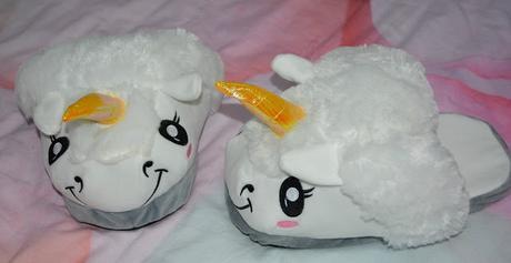 Pantofole a forma di Unicorno