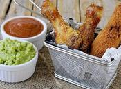 Pollo Fritto Guacamole Salsa Chili