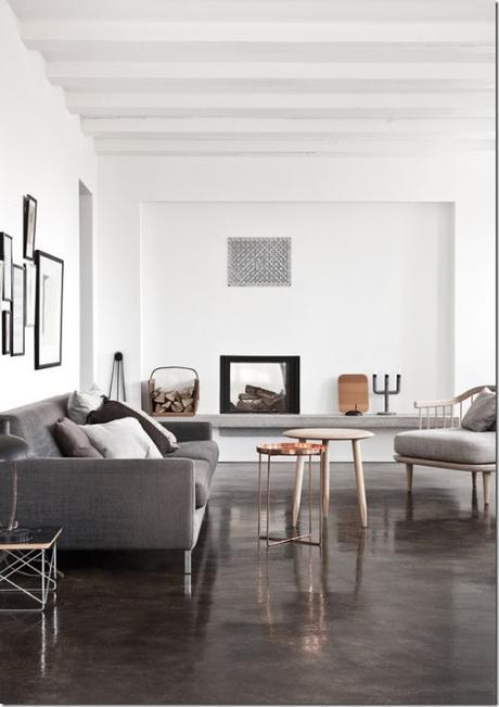 Arredamento Bianco E Grigio.Casa In Bianco E Grigio Stile Nordico Paperblog
