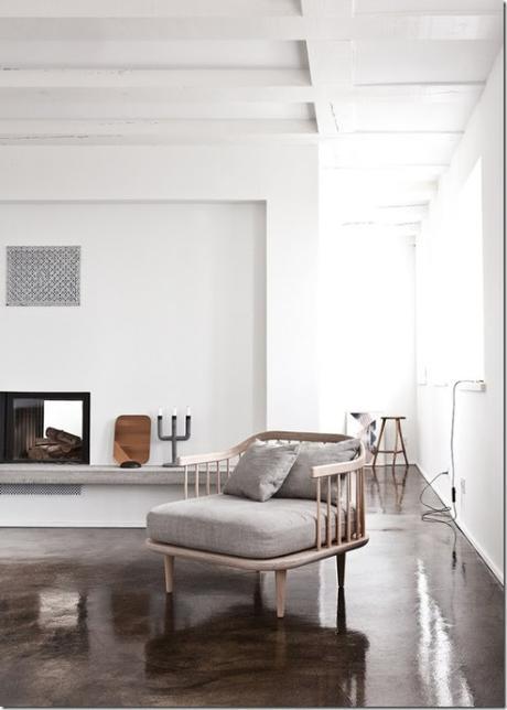 Casa in bianco e grigio stile nordico paperblog for Disegni di log casa stile ranch