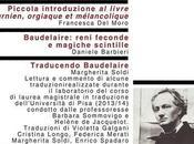 febbraio 2017, Bologna Lettere omaggio Charles Baudelaire 150° anniversario della morte