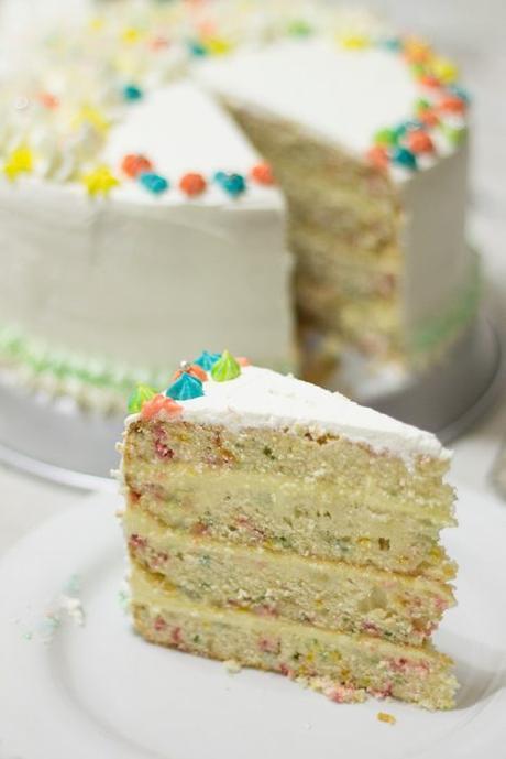 Funfetti Cake all'Italiana! e Buon Compleanno!