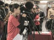 """febbraio 2017 """"Matemusik Band"""" esibizione presso stazione Piazza Vittorio della Metro"""
