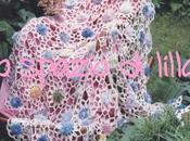 Copertina neonato all'uncinetto FIORI&POMPOM /Crochet baby blanket,free pattern