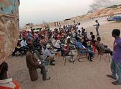 Migranti grosse difficoltà Zuara (Tripoli) soccorsi dalla Guardia costiera libica annegati salvi
