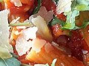 pasta gustosa: rigatoni sugo pomodoro, grana padano rucola