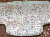 Belize, placca giada antico sovrano