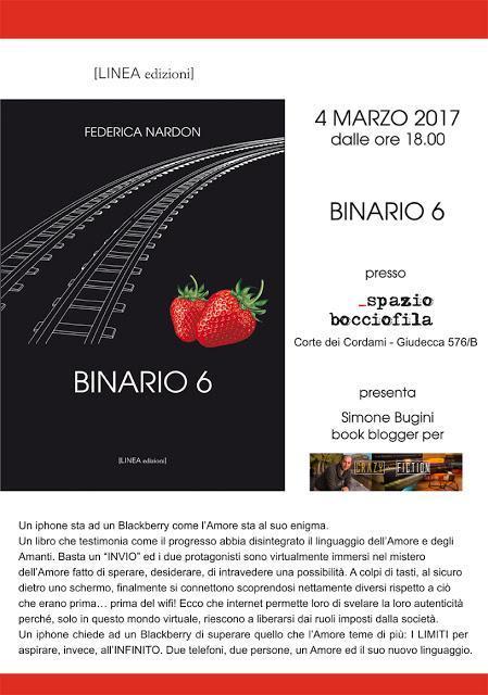 Una serata con Federica Nardon, autrice di BINARIO 6