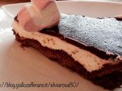 Crostata cioccolato cheesecake mirtilli